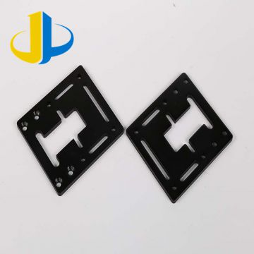 Hardened Metals Metal Stamping Parts Blackening Laser Cutting