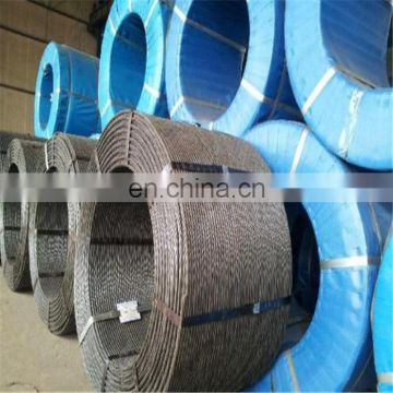 ASTM 416 /A416M 7 wire Low relaxation pc steel wire strand