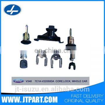7C1A V22050DA for JMC Transit V348 door electronic lock cylinder assembly