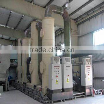 Industrial Scrubbing Tower Manufacturer Fiberglass Sulfuric Acid