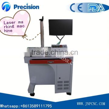 Energy-saving fiber laser marking machine for electronics and communication tools JPF-10W