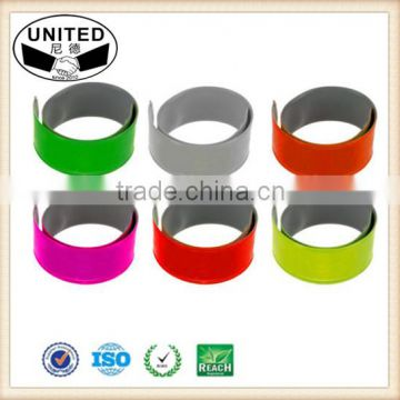 Two Reflective Bands Ankle Band Wristbands Slap Wraps Running Walking Biking
