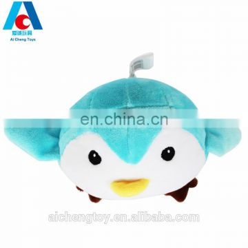 custom soft crane claw machine plush toy penguin for wholesale
