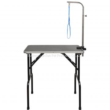 Light Portable Stainless Steel dog grooming table for dogs and cats
