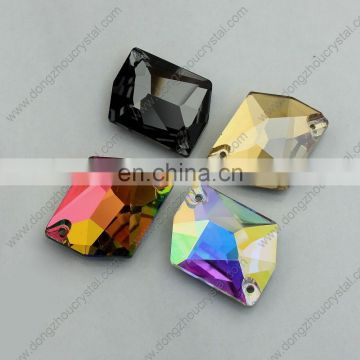 Vitrail Medium Loose Crystal Beads Rhinestone with Two Holes for Wholesale