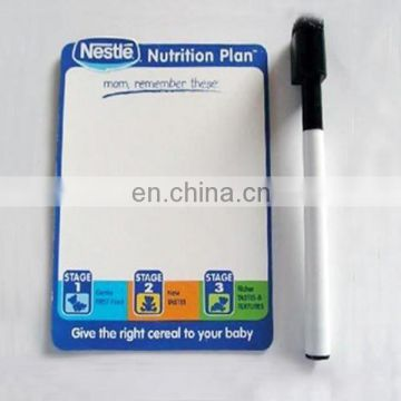 flexible magnetic white board for children