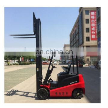 small forklift for sale electric battery operated forklift 2 ton with 3 mast