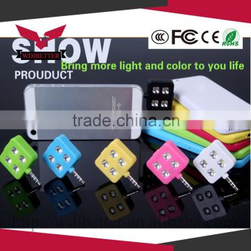 External Selfie Led Flash Pocket Spotlight Fill Light For Mobile Phone Flash Video Light For Iphone 6
