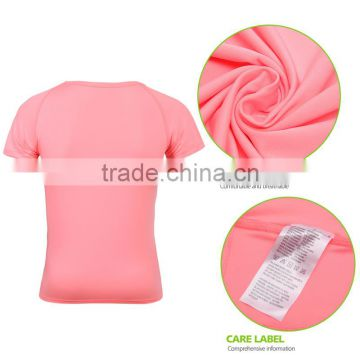 BEROY Wholesale Polyester Elastane T Shirt with Customized Pattern