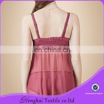 Women video sexy lingerie ladies transparent sexy sleepwear