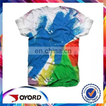 oem wholesale 3d digital printed tshirt custom t-shirts t shirt design