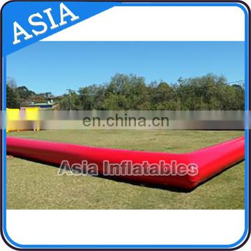 Funny soccer playing Inflatable Soccer Field / Football Court for bumper soccer