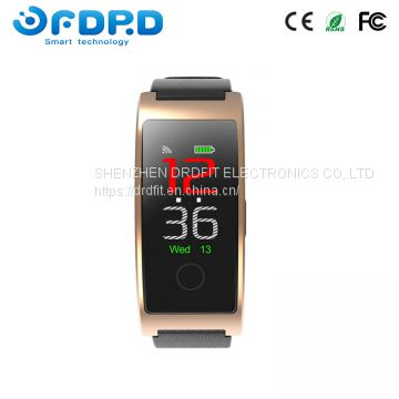 Guangdong supplier smart heart rate monitor blood pressure watch smart bracelet BLE4.0