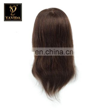 top quality teaching mannequin head with human hair Customizable 100% human hair training doll head For Hairdresser