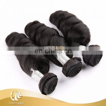 8 Inch Natural Wave Human Hair Weaving No Knots Clean And Soft Ends