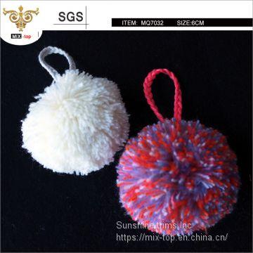 3e0096184a53 ... High quality 8cm fluffy pom pom
