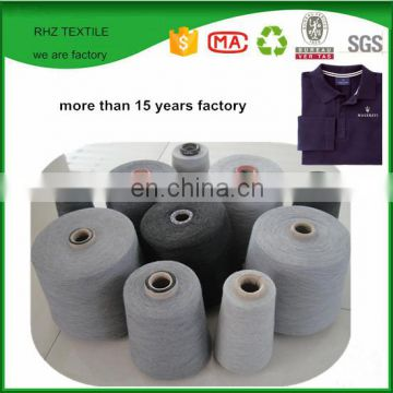 Ne 24/1 CVC Cotton/Polyester Blended Yarn 65%/35%