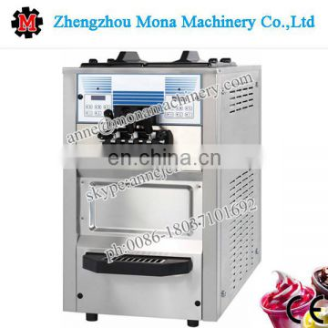 Portable Soft Ice Cream Commercial Frozen Yogurt Machine For Sale