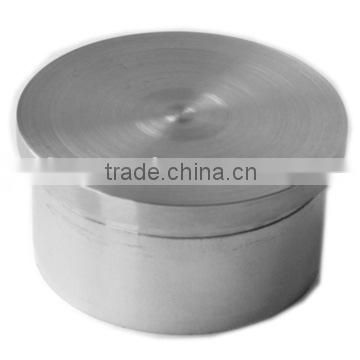 stainless steel end cap/Stainless steel Flat End Cap/inox baluster