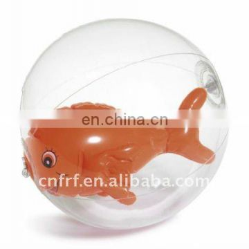 inflatable advertising transparent ball with 3D bottle inside