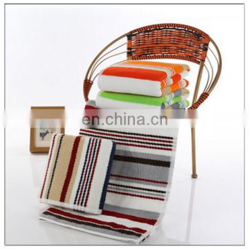 Wholesale Custom Printed Stripe Microfiber Bath Towels