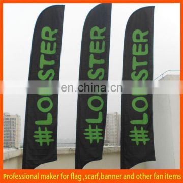 cheap display outdoor beach wing flags