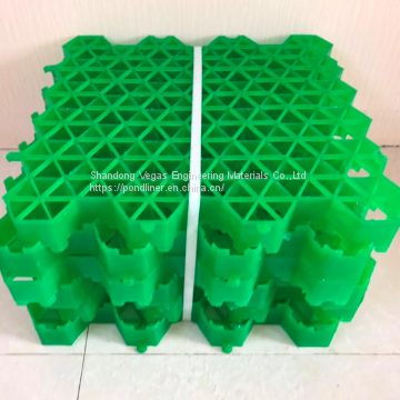 plastic grass grid grass paver for parking