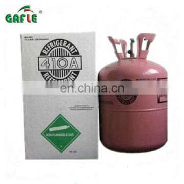 popular brand cooling refrigerant gas R410a in 11.3kg bottle