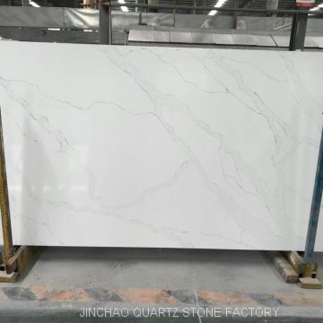 Artificial statuario blanco quartz stone slabs