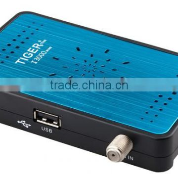 Best Price Digital HD Android Satellite Receiver Tiger I3000 Mini Watching  Free Channel Android TV Box