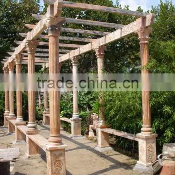 hand carved garden pavilion garden gazebo garden outdoor decoration