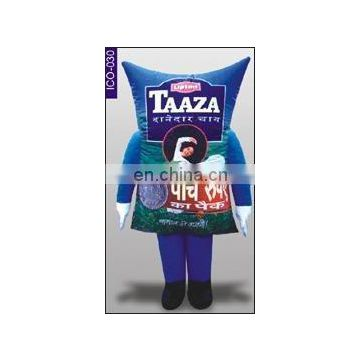 Tata Pouch Shape Inflatable Costume
