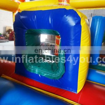 2015 New design Jungle small inflatable combo for kids