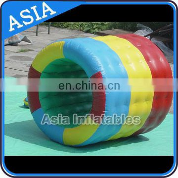 Water Park Games Colorful Inflatable Water Roller