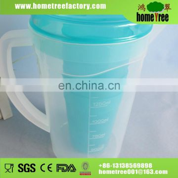 1.8L plastic pitcher and tumbler set