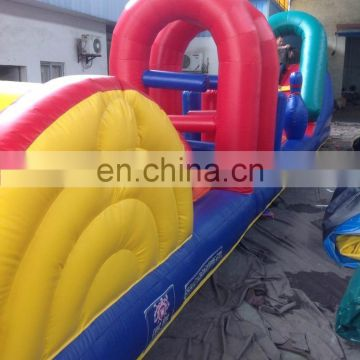 factory price bouncer inflatable wipeout water park with EN15649