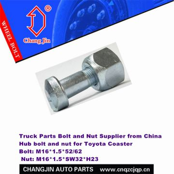 Toyota Coaster 4 Wheel Truck Bolt Nut Supplier China