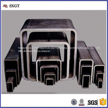 Q195 Q235 Square Round ERW Welded Hollow Section Steel Tube / Pipe