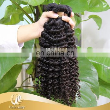 Unprocessed Factory Price Natural 10a brazilian virgin hair deep wave 32 Inch
