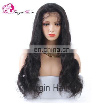 Hot Selling Factory Price Undetectable Natural Hairline Full Lace Wig