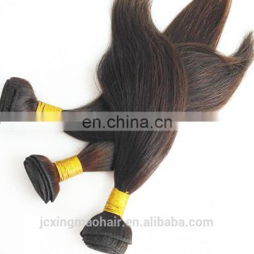 Wholesale 100% natural indian human hair Raw unprocessed virgin indian hair