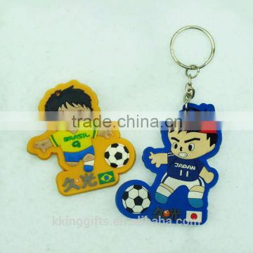 New product 2015 guangzhou factory basketball keychain/ metal key chain/ custom made keychains