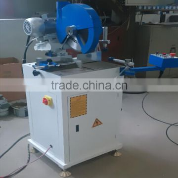 Single head aluminum window and door cutting machine