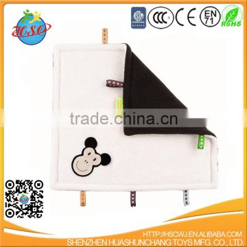 Square Mini Animal Baby Blanket Toy