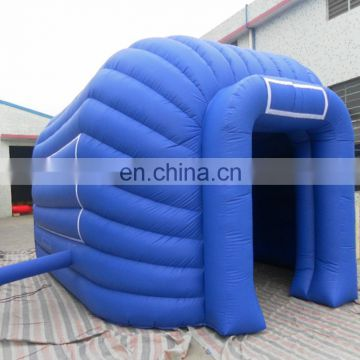 Good quality inflatable bule beach tent,inflatable tent rental
