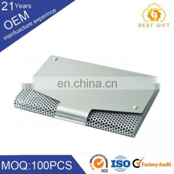 Top quality cheap visiting metro metal business card holder