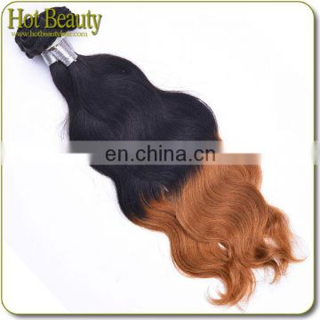 5A Brazilian Hair Weaves With Two Tone Colors Sensational Human Hair Weave