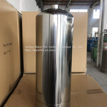 Stainless steel fire extinguisher cylinder 6L