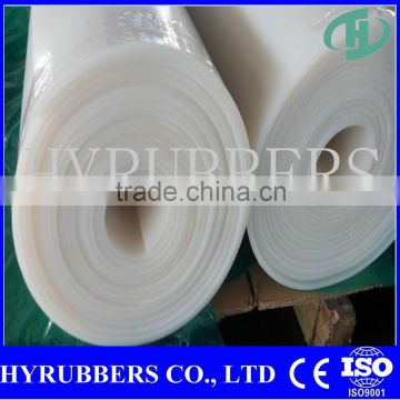 Factory sale high temperature silicone rubber sheet manufacturer