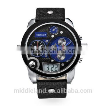 100% Factory Custom high quality quartz brand watch made in China with stainless steel case is very fashion in GERMAN